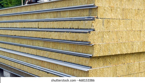 Pack of Sustainable echo absorber sandwich panel for wall