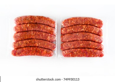 Packaged Meat Sausages