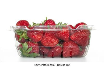 Packaged Strawberries
