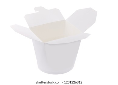 Packages for food. Containers for shipping cardboard box. Isolated. On a white background.