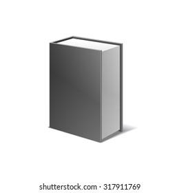 packing box for bottle illustration isolated on white background