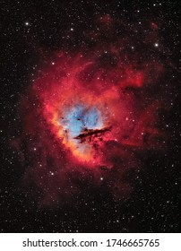 The Pacman Nebula in the Constellation of Cassiopeia (NGC 281)