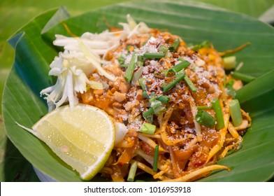 (Pad Thai) Thai noodle Delicious