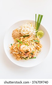 Pad Thai noodles - Thai food style , Soft focus point