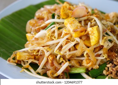 pad thai. signature asian food.