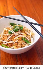 Pad thai, Thai signature dish.