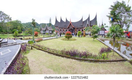PADANG, INDONESIA 12 Nov 18-Minangkabau Culture Documentation and Information Center is a museum and research center for Minang culture, located in the city of Padang Panjang, West Sumatra, Indonesia.