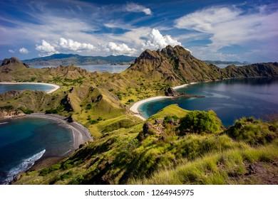 Padar Island, Komodo National Park, Labuan Bajo, Flores - Indonesia.