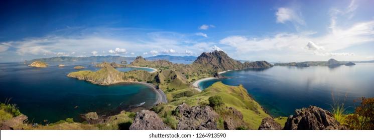 Padar Island, Labuan Bajo, Flores - Indonesia.