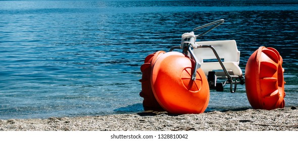 Paddle Bike on the Lake