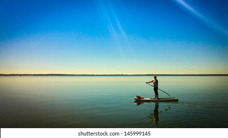 Paddleboard Sun Rays