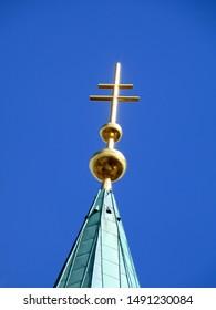 paderborn high dom cross in summer