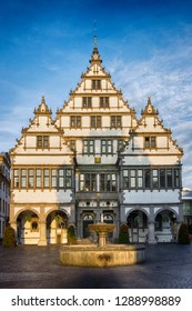 Paderborn townhall, in Germany, constructed in 1611