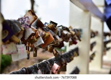 padlock lock secure key