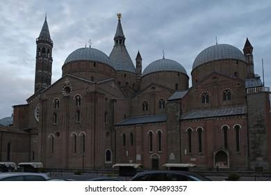 PADOVA, ITALY - APRIL 2015; Basilica di Sant' Antonio di Padova