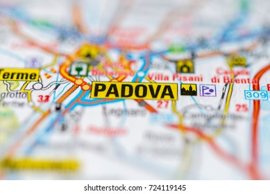 Padova on map.