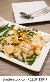 Padthai is femous food in thailand.