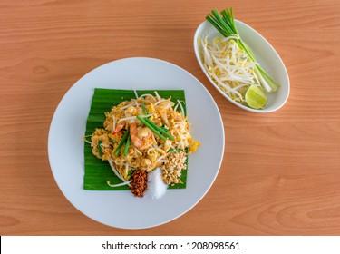 Padthai noodles thai food
