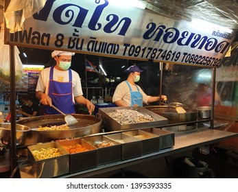 Padthai Street Food in Thailand -May 2019