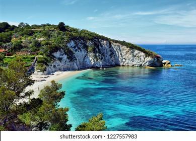 """Padulella2 beach in Tuscany, isola d'Elba."
