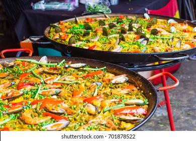 Paella : Spanish Cuisine