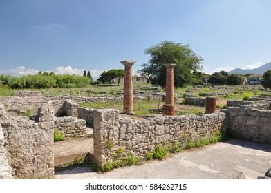 Paestum - ancient Greek ruins in Italy