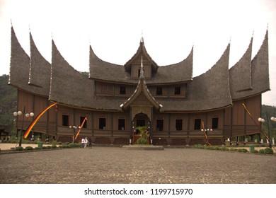 Pagaruyung palace (minangkabau houses style ) , west sumatera, Indonesia