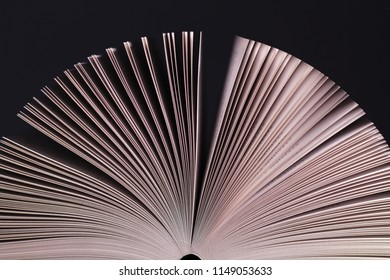 Pages of book abstract background