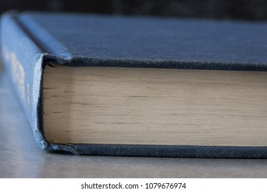 The Pages of a Hard Cover Book