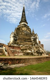 Pagoda in the ancient capital Ayutthaya