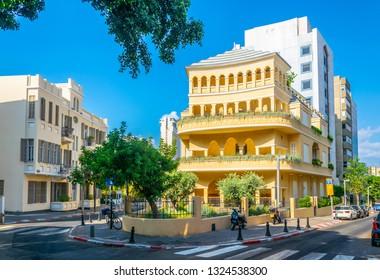 Pagoda house in Tel aviv, Israel