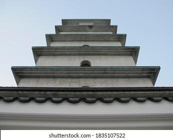 pagoda museum at headquarters of shorinji kempo, tadotsu town, kagawa, Japan (14/11/2010)