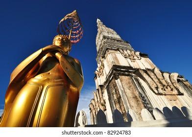 pagoda of Nakhon Phanom Province, northeastern Thailand