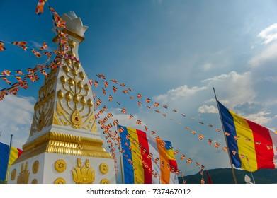pagoda on moutain