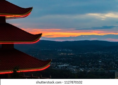 Pagoda In Reading, Pennsylvania