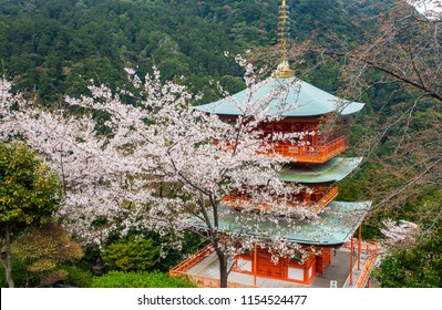 The pagoda of Seigantoji, in Nachi, Wakayama Prefecture, Japan