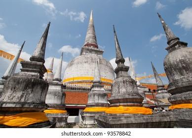 Pagoda in Wat Mahathat, Nakhon Si Thammarat province Thailand