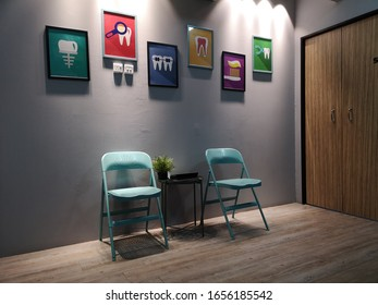PAHANG, MALAYSIA - JANUARY 29TH 2020 : The waiting room in the dental clinic