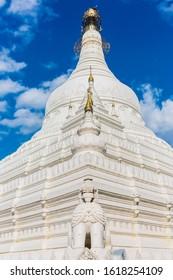 Pahtodawgyi temple pagoda of Amarapura Mandalay state Myanmar (Burma)