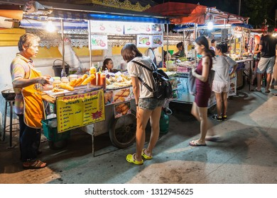 PAI, THAILAND - NOVEMBER 01, 2014: Night Market in Pai, nothern Thailand.