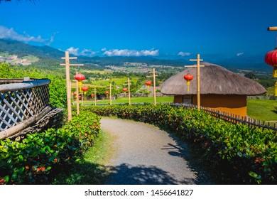 Pai, Thailand - November 17th 2018 : The way to Pai highland.