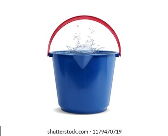 Pail full of water