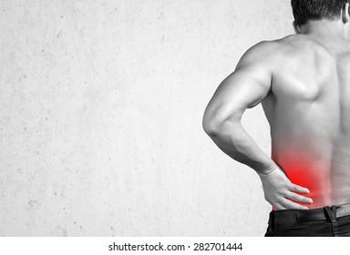 Pain, back, sports.