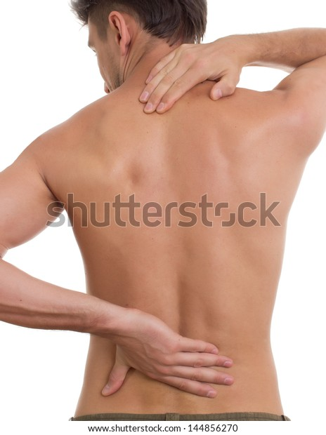 Pain concept.isolated on white background