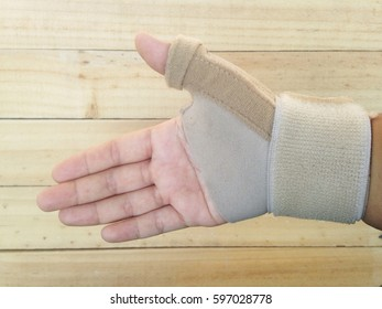 Pain hand with hand-support