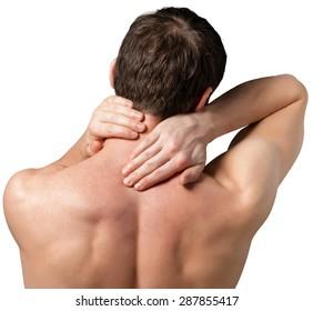 Pain, neck, spine.
