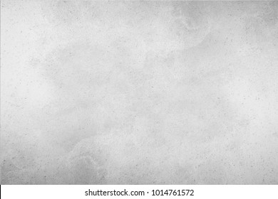 Paint (50%), texture (50%). Bump map. The texture of a smooth rough wall. Relief plane. Balanced gray color. Light reflex. White Design Background. Artistic plaster. Rastered image.