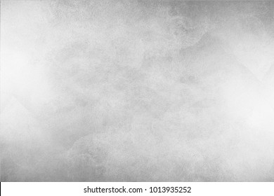 Paint (50%), texture (50%). Texture of the painted surface of a smooth rough wall. Relief plane. Balanced gray color. Light reflex. White Design Background. Artistic plaster. Rastered image. - Shutterstock ID 1013935252