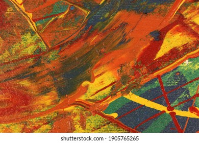 Paint background and abstract texture.