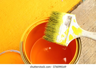 Paint brush and color